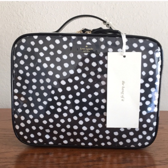 e2498a2711fd NWT Kate Spade Martie Travel Makeup Bag